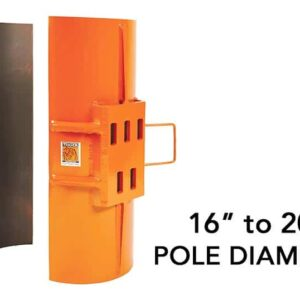SP1200 Clamshell Attachment for Removing Metal Poles