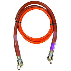 Huskie Tools 20Ft. high-pressure, non-conductive NC-SERIES hydraulic hoses