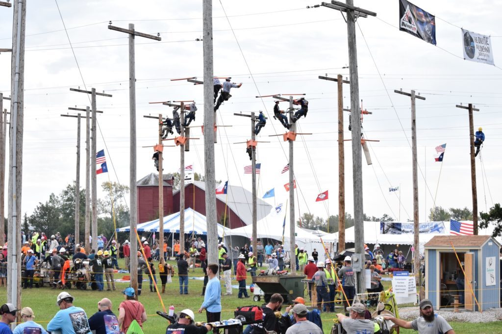 Lineman Rodeo grounds